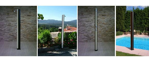 Reduce energ a con duchas solares la web de las duchas for Duchas de piscina