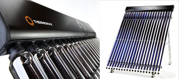 Colector solar de tubo