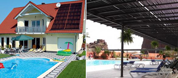 Calentamiento de piscinas solar rippduchas solares - Calentar piscina solar ...