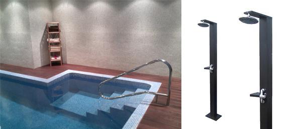 Duchas solares s m e s la web de las duchas solares - Duchas solares para piscinas ...