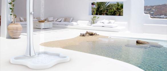 Platos de ducha para piscina la web de las duchas solares - Duchas solares para piscinas ...